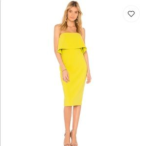 LIKELY DRIGGS DRESS IN APPLE GREEN